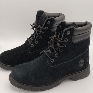 "Timberland Primaloft 8"" Waterproof Triple Black"